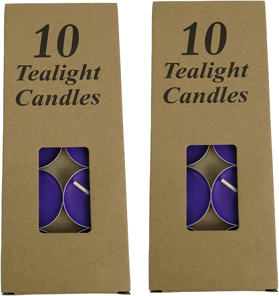 KEQKEV Kraft Paper Tea Lights Candles Super beauty product restock quality top Small Box Cheap bargain -
