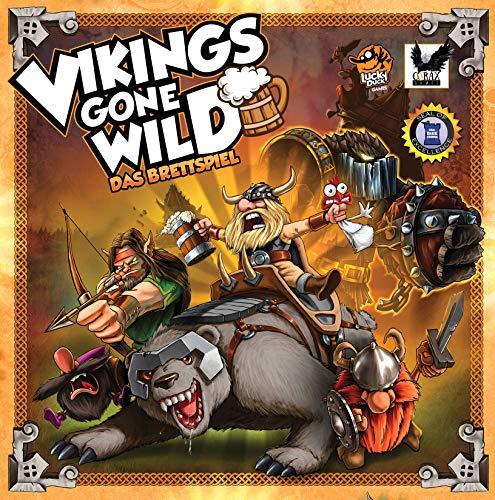 Corax Games Vikings Gone Wild - Das Brettspiel
