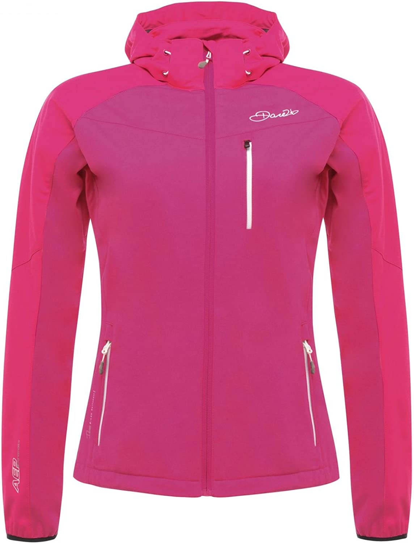 Dare2b Utilize Mountain Softshell Jacket damen - Enamel Blau