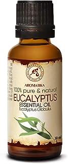 Eukalyptusöl 30ml - Eucalyptus Globulus - 100% Naturreines Ätherisches Eukalyptus Öl - Besten für Aromatherapie - Entspannung - Sauna - Aroma Diffuser - die Gesundheit Fördern