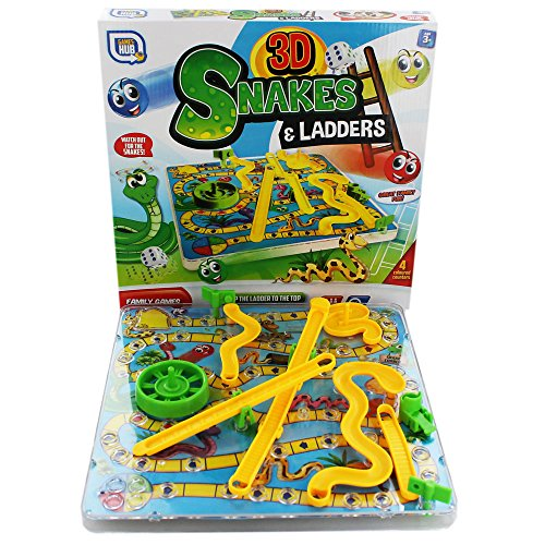 Grafix 3D Snakes And Ladders Game