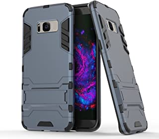 Case for Samsung Galaxy S8 (5.8 inch) 2 in 1 Shockproof with Kickstand Feature Hybrid Dual Layer Armor Defender Protective...