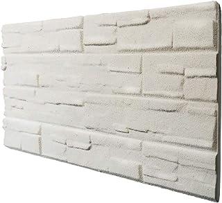 comprar comparacion Piedra blanca panel de imitación piedra de poliestireno expandido resinado medida 100 x 50 cm grosor 2 cm
