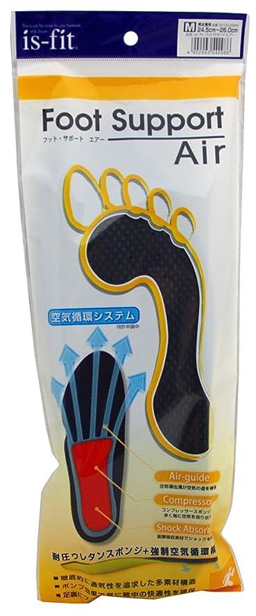 傾いた輝度巨人is-fit(イズフィット) フットサポートエアー 男性用 M 24.5-26.0cm