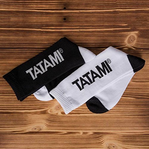 Tatami Fightwear Par de calcetines para hombre, Hombre, Calcetines, whtsocks, blanco, Talla única