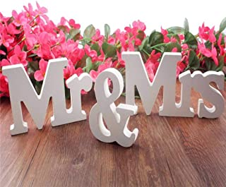 Best big mr and mrs letters Reviews