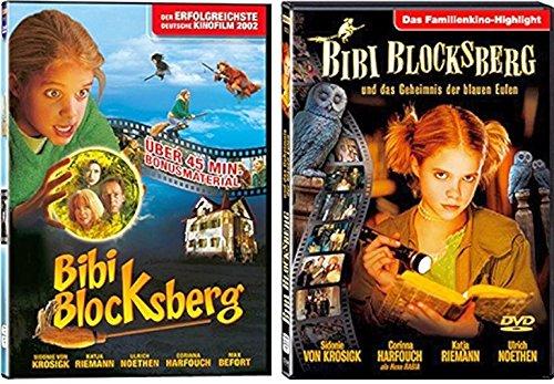 Bibi Blocksberg - Spielfilm Set (Bibi Blocksberg 1 + Bibi Blocksberg und das Geheimnis der blauen Eulen) - Deutsche Originalwar