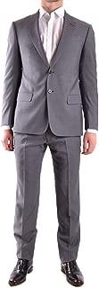 Luxury Fashion Mens VCVGEBVC002620 Grey Suit | Season Permanent