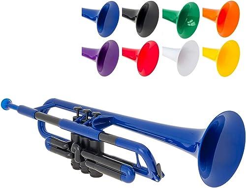 pTrumpet PTRUMPET1B Trompette en plastique Bleu