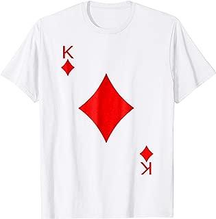King of Diamond Deck of Cards Halloween Costume T-Shirt
