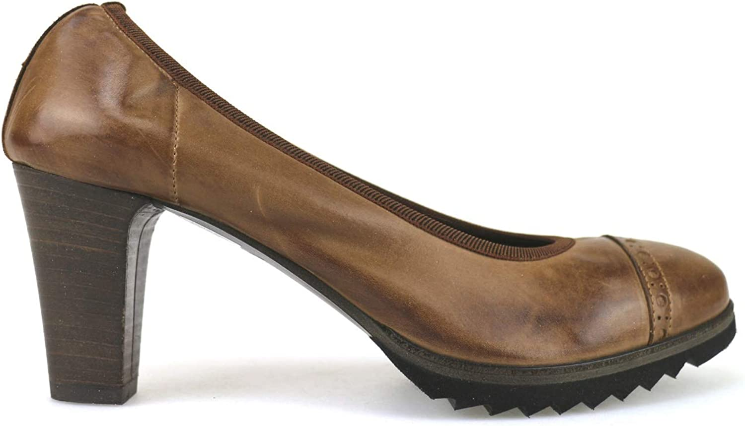 SERGIO MARTINI Pumps-shoes Womens Leather Brown