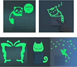 Amazon.es: pegatinas fluorescente