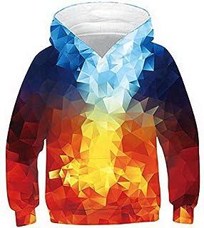 Sweatshirts Mens Funny Graphic Hoodie 3D Printed Unisex Graffiti Pullover Hoodies Sweatshirts Hooded with Drawstring Pockets
