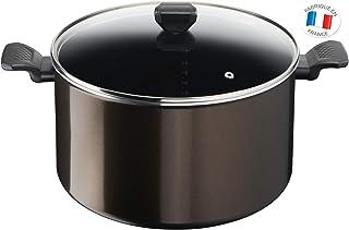 Tefal Easy Cook & Clean Marmite 30 cm (12,2 L) antiadhésive + Couvercle Compatible Tous Feux sauf Induction B5546902