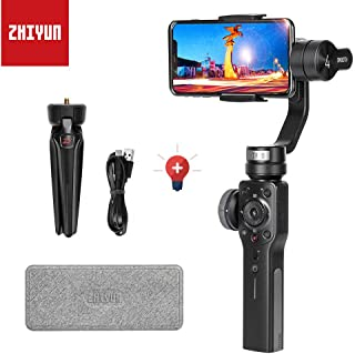 Zhiyun Smooth 4 3 Axis Handheld Gimbal Stabilizer for iPhone x 8 7 6plus Android Smartphone Samsung Galaxy S8 Note 8/GoPro Hero 6/5/4/3 New Smooth-Q