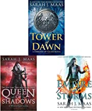Tower of Dawn (Throne of Glass)+Queen of Shadows (Throne of Glass)+Empire of Storms (Throne of Glass) (Set of 3 Books)