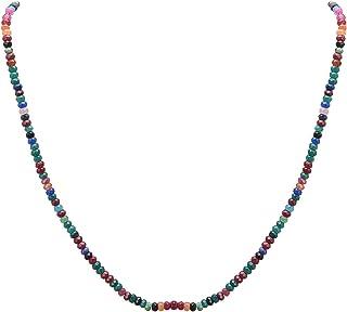 Zephyrr Sanskriti Fashion Multicolor Collana/Braccialetto/Cavigliera Perline Singolo Strand Dori