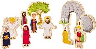 Hallmark Jesus Lives Wood Play Set Dolls & Pretend Play Religious
