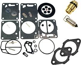 (Compatible With Yamaha) Mikuni Carburetor Rebuild Kit-Needle/Seat Base Gasket Fits MANY Wave Runner III Raider VXR GP 700 701 650