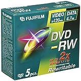 Fujifilm DVD-RW 4.7GB - Confezione da 5...