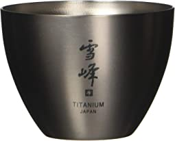 Titanium Sake Double Wall Cup