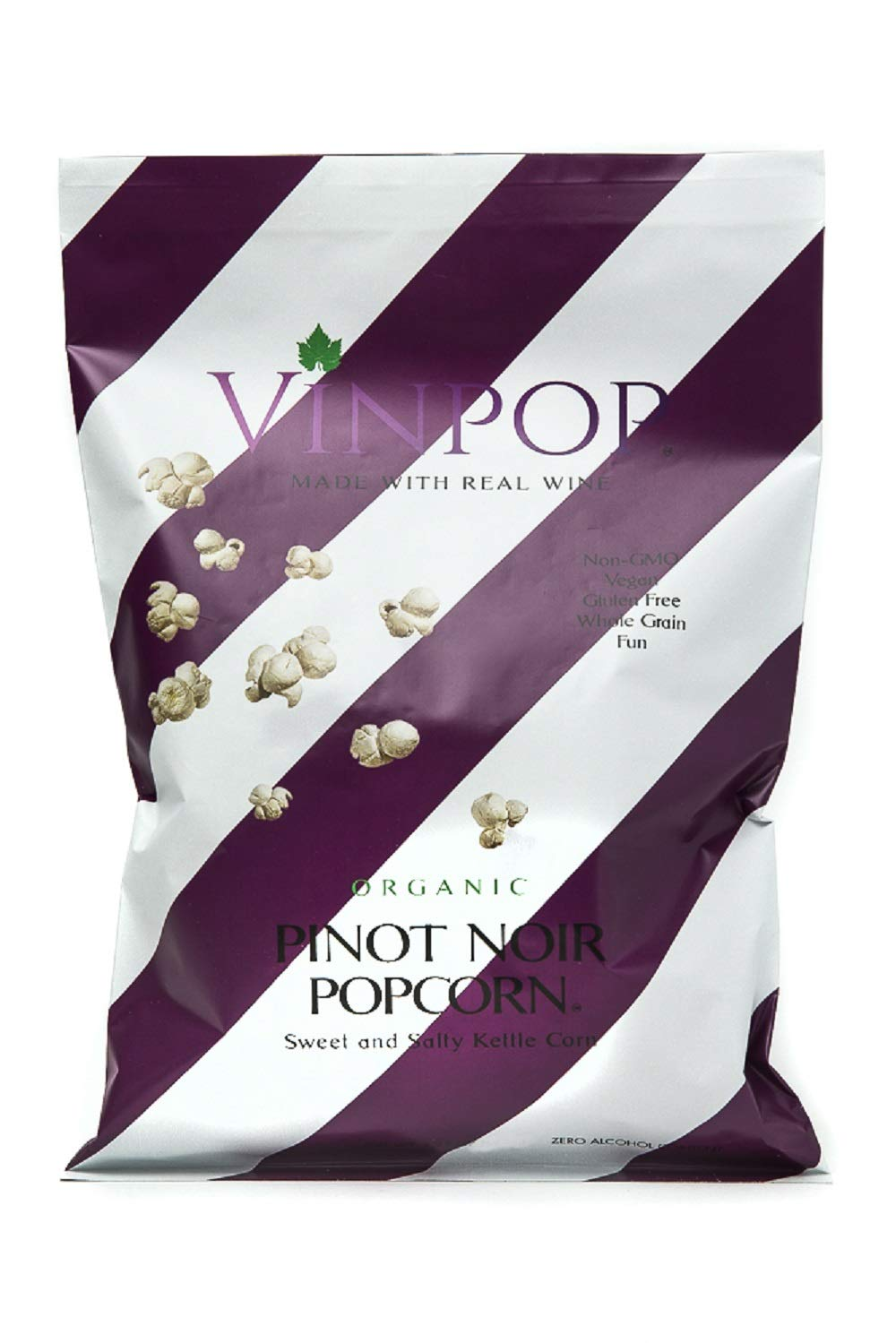 VINPOP Organic Popcorn - Pinot Noir Bag Ounce 2 Challenge 5 popular the lowest price of Japan ☆ 12 Pack Made