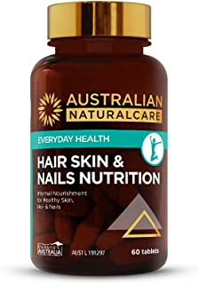 Australian NaturalCare - Beauty - Hair, Skin & Nails Nutrition Tablets (60 Count)