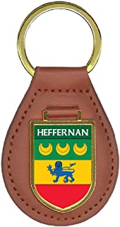 Heffernan Family Crest Coat of Arms 1 Total Key Chains