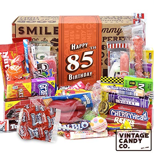85th Birthday Gift Box with Childhood Candy