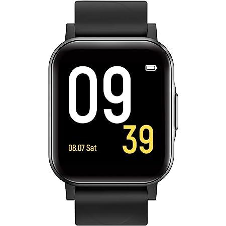 SoundPEATS smartwatches Reloj deportivo inteligente con monitor de frecuencia cardíaca, monitor de calidad del sueño, resistente al agua IP68, visualización táctil a color, recordatorio de llamadas y mensajes, 12 modos deportivos