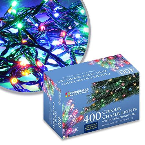 75170 Christmas Workshop Benross 400 LED Chaser String Lights Multi...