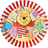 Blue Frog Toys 32 Winnie the Pooh 19.5 cm Paper Party Plates