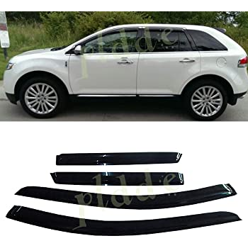Side Window Vent-Ventvisor fits 15-19 Ford Edge R In-Channel Deflector 4 pc