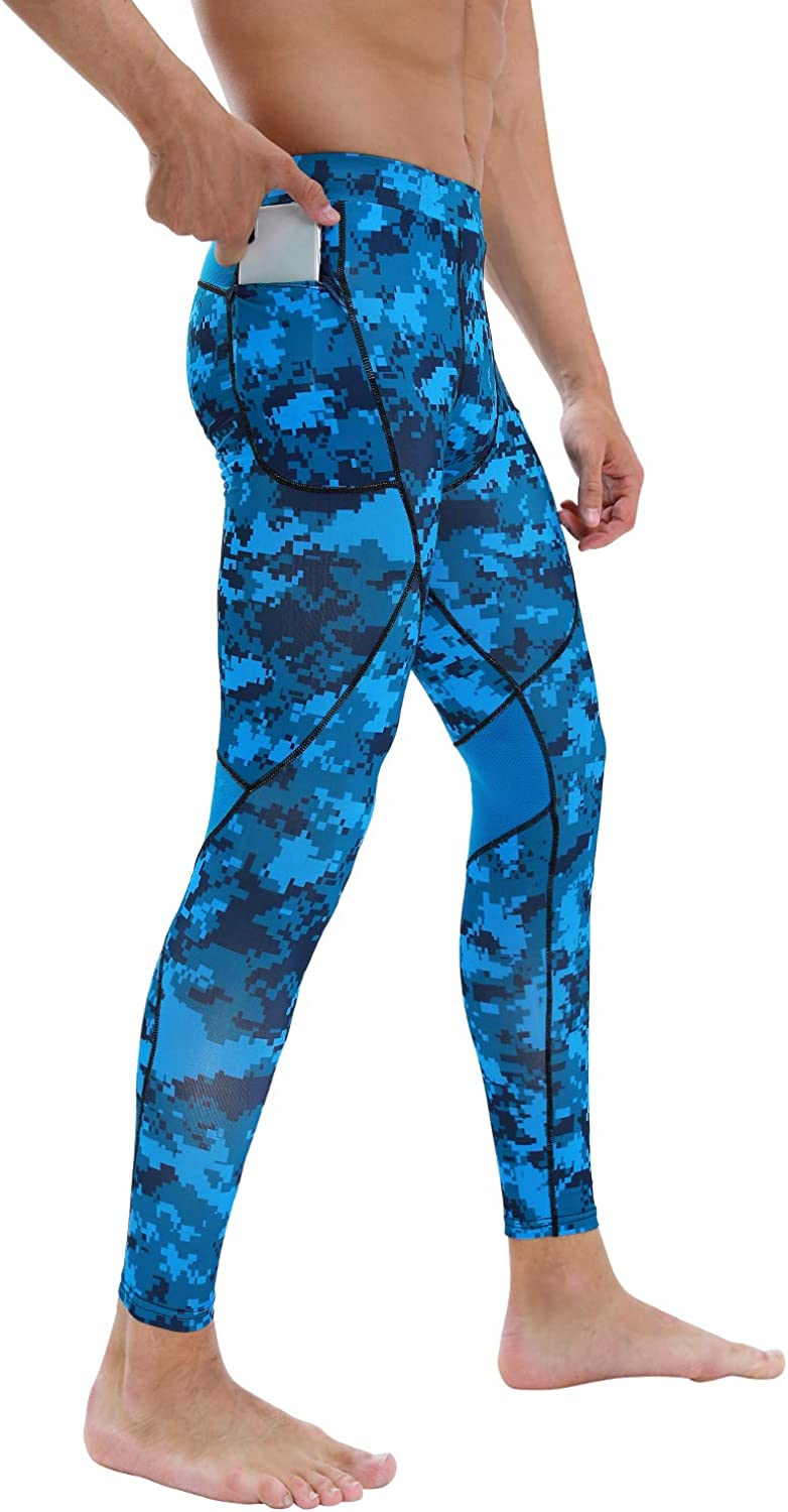 Milin Naco Men's Compression Pants Cool Rare Max 48% OFF Baselayer Dry S Running