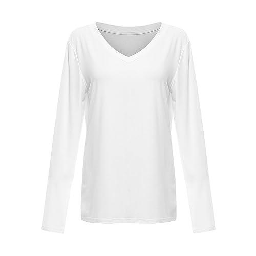 d9ef23b84 Floerns Women's V Neck Short Sleeve Casual T-Shirt