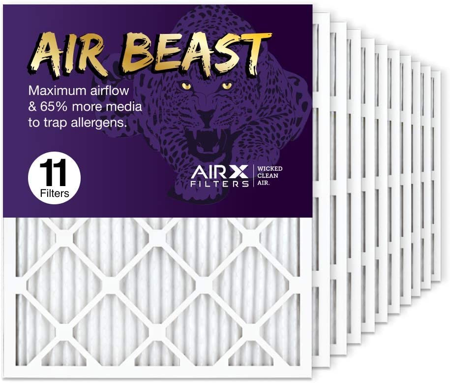 AIRx Filters 20x25x1 Air Filter MERV Super beauty product restock Save money quality top 11 AC HVAC Furnace Pleated