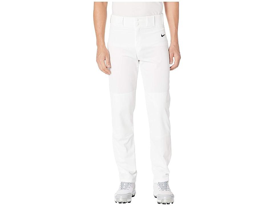 Nike Core Baseball Pants (White/Black) Men