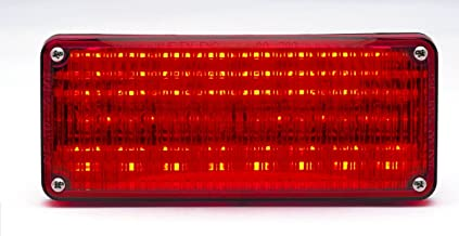 70R02FCR Red LED with Clear Lens Whelen 700 Series Super LED Light