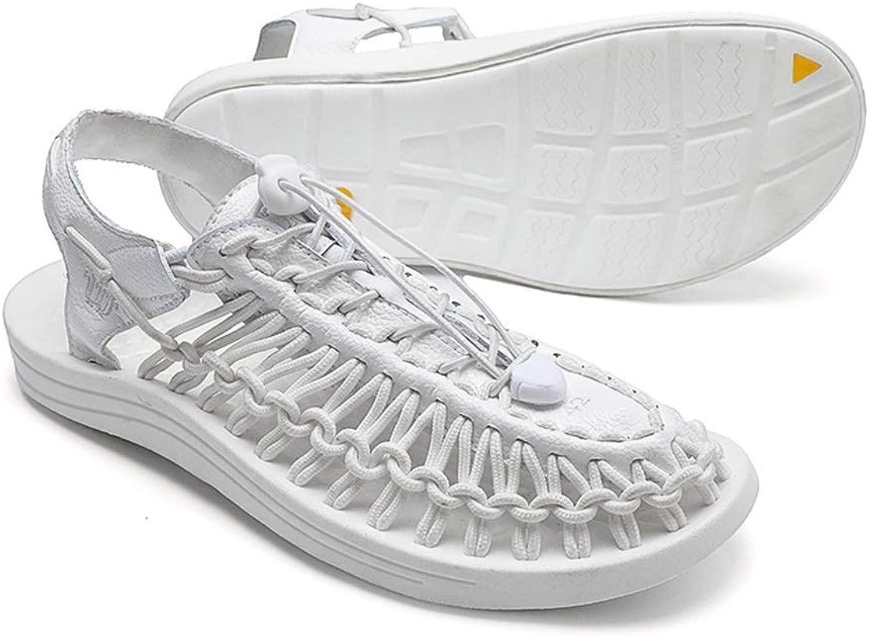 Sandals HAIZHEN, Men's, Summer Hand-Woven Beach shoes, Breathable Casual shoes