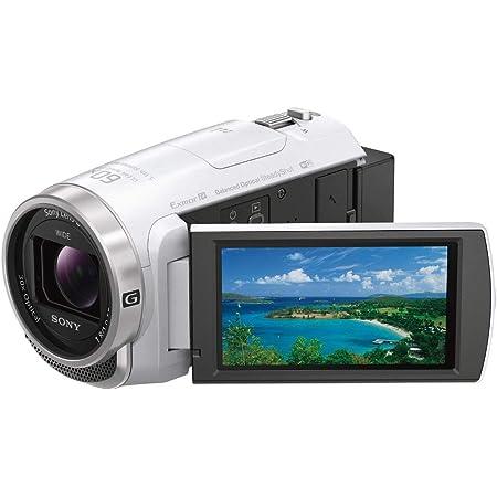 ソニー ビデオカメラ Handycam HDR-CX680 光学30倍 内蔵メモリー64GB ホワイト HDR-CX680 W