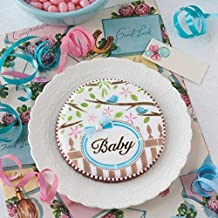 Baby 2 Prettier Plaques Cookie Stencil Set by Julia Usher