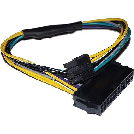 24〜8ピンATX Dell Optiplex 3020 7020電源マザーボードアダプタケーブル