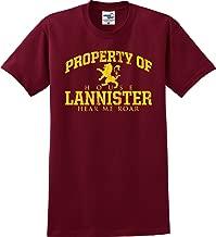Property of House Lannister Lion Hear Me Roar GOT T-Shirt (S-5X)