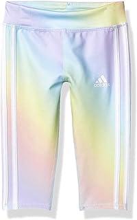 adidas Girls' Active Sports Athletic 7/8 Length Legging Tight
