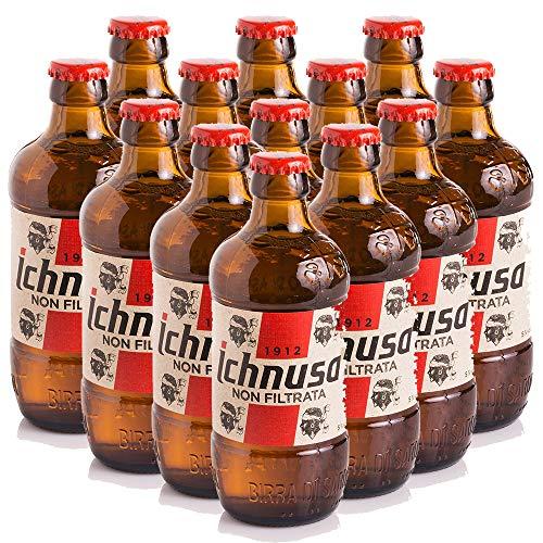 Birra Ichnusa non Filtrata | Cartone 24 Bottiglie 33cl | Anima Sarda