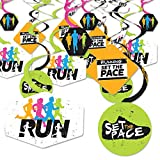 Big Dot of Happiness Set the Pace - Running -...
