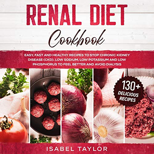 『Renal Diet Cookbook』のカバーアート
