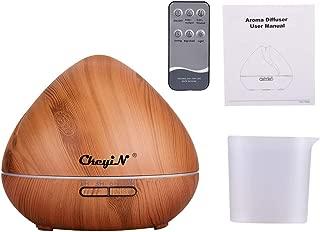 550ml Difusor de Aromaterapia,7 Agujeros Difusor de Aceite Esencial/Humidificador Ultrasónico-7 Colores+3 Temporizador-Para la Habitación del Bebé/SPA/Yoga/Masaje/Oficina,Etc (A)