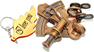 Brass Nautical Sextant Astrolabe Gifts Marine Navigation Sale Navigation Brass Polished Sextant