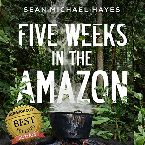 Five Weeks in the Amazon audiobook cover art